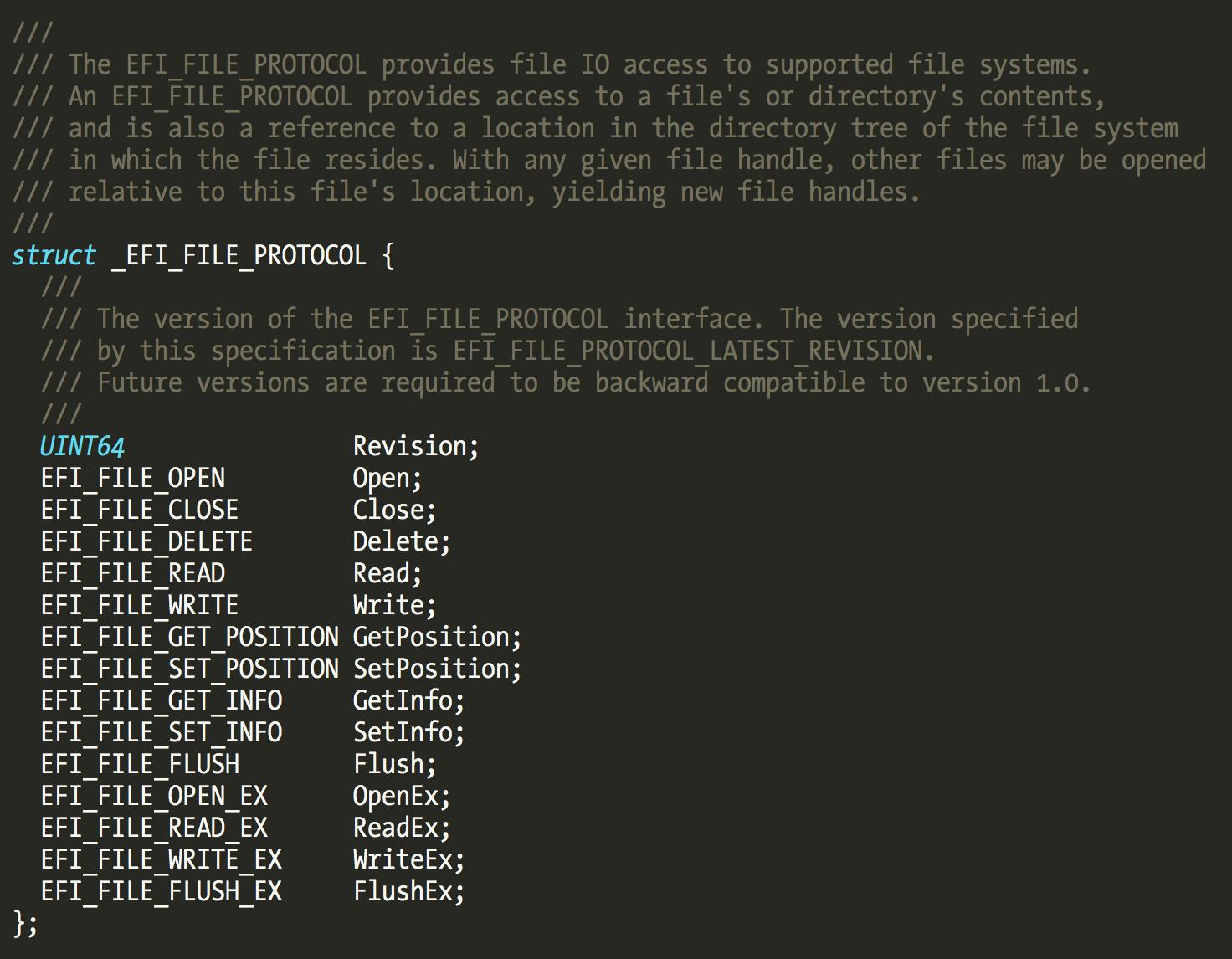 efi file protocol