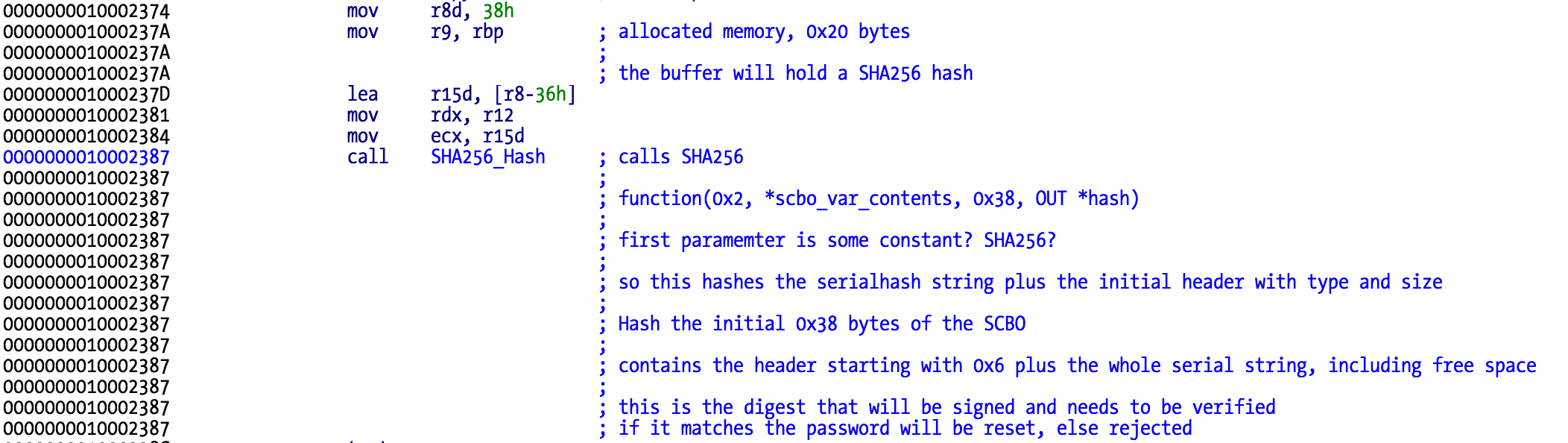 hash scbo contents